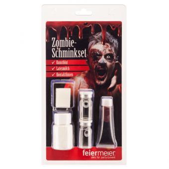 Schminkset Zombie  5 teilig