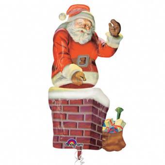 Airwalker Weihnachtsmann 134x73 cm