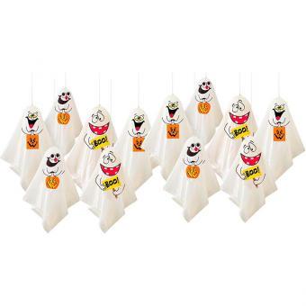 12 Lustige Geister Als Gruselige Halloween Deko