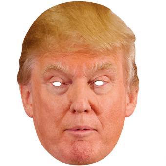 Donald Trump Pappmaske
