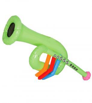 Aufblasbare Trompete