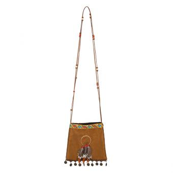 Handtasche Indianer Squaw