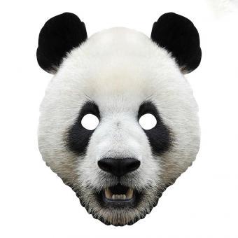 Panda Pappmaske