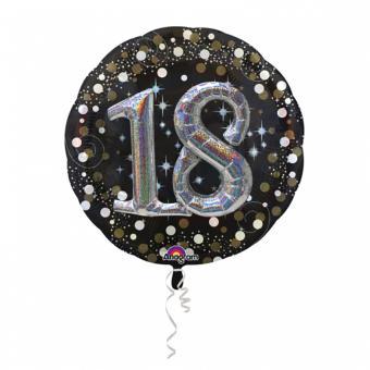 Folienballon Sparkling #18 81cm