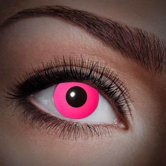 Hot Pink UV-Kontaktlinsen Farblinsen