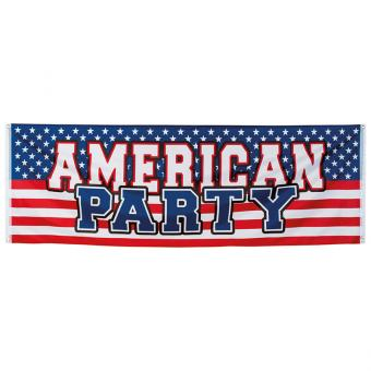 Banner American Party USA 74x220cm