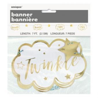 Girlande Twinkle twinkle little Star 213cm
