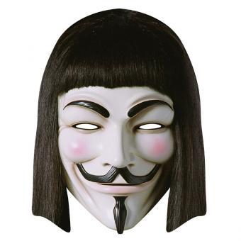 Maske Pappe V wie Vendetta