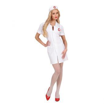 Kostüm Lady Krankenschwester Weiß Größe S