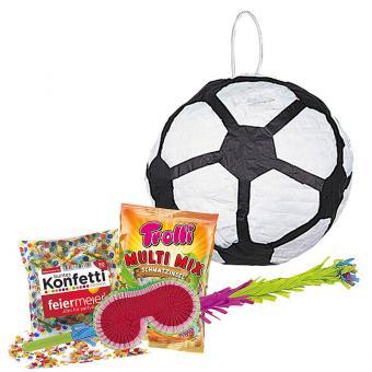 Set Pinata Fussball mit Zubehör XL