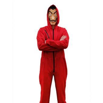 Kostüm Overall Dali Rot Gr. XL