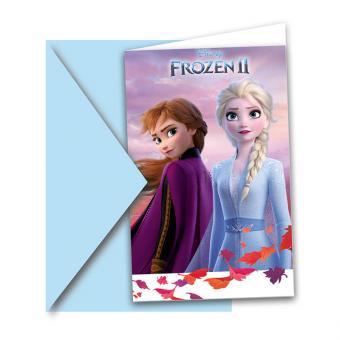 Einladung Frozen II 6 Stück