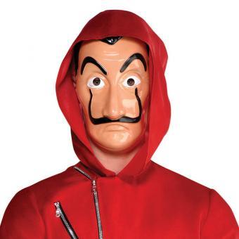 Maske Plastik Guy Fawkes Dali