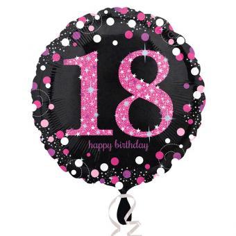 Folienballon Pink  #18 Pink 45cm