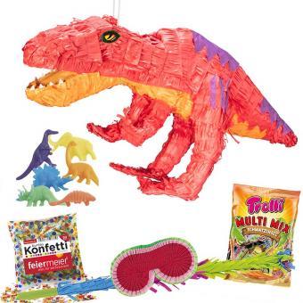 Set Pinata T-Rex mit Zubehör XL