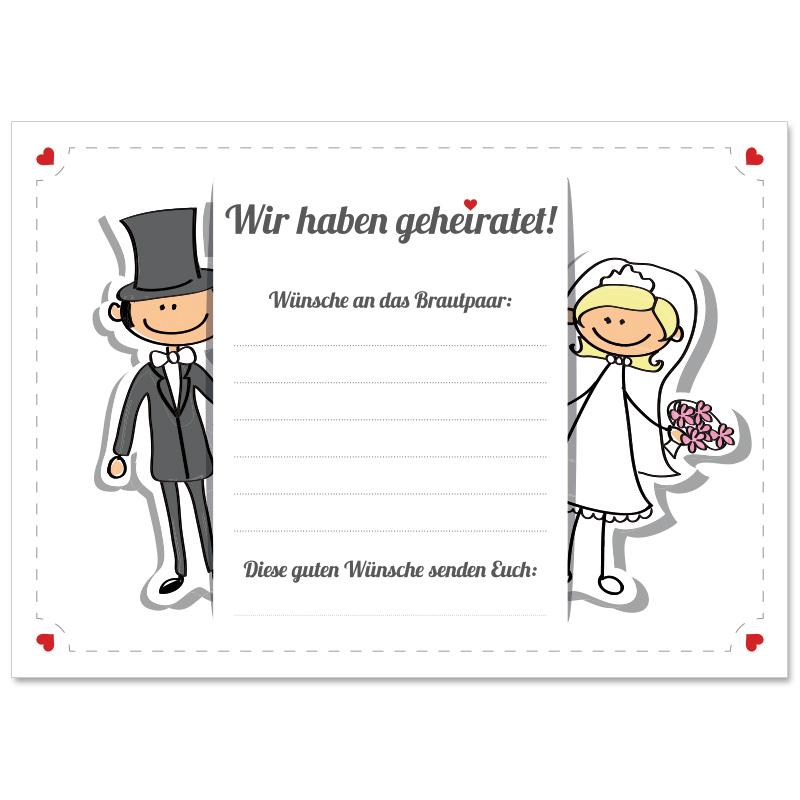 Hochzeit Comic